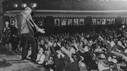 """En1967, Johnny Hallyday faisait sensation au """"Parapluie des vedettes"""" à Huy"""