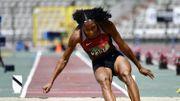 Thiam, titrée à la longueur aux championnats de Belgique, approche le record national