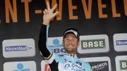 Tom Boonen s'impose pour la 3e fois à Wevelgem