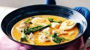 Recette de Candice : Curry crémeux de turbot