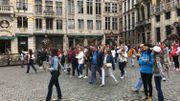 Le comportement de certains touristes avec leur smartphone agace à Bruxelles
