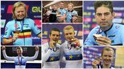 Revivez les médailles belges des Championnats d'Europe 2018