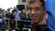 """Pierre Gasly après sa deuxième place au Brésil : """"C'est le plus beau jour de ma vie !"""""""