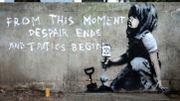 Banksy engagé pour la planète ? A Londres, une nouvelle oeuvre lui est attribuée