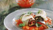Recette de Candice : Rouleaux d'aubergines à la palermitaine