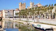 L'Aude au bord de la Méditerranée