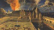 Le Palais du Coudenberg parti en fumée en 1731