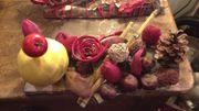 L'atelier de Noël: le centre de table éco!
