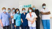 L'équipe du nouveau Centre d'Evaluation et de Diagnostic des Pathologies des personnes âgées de plus de 75 ans.