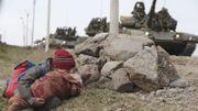 """Après """"The Artist"""", Hazanavicius plonge dans les horreurs de la guerre de Tchétchénie"""