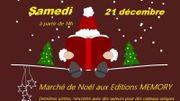 Marché de Noël aux Editions Memory