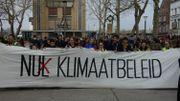 Les jeunes Anversois se sont rassemblés pour le climat