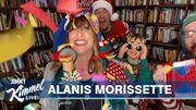 Une interprétation pleine d'humour pour Alanis Morissette