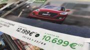 Voitures : impossible d'avoir les prix annoncés dans les publicités