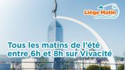 """Venez prendre le petit-déjeuner avec l'équipe de """"Liège Matin en Vadrouille"""" durant tout l'été!"""