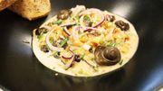 Petits gris de Namur flambés au pèket : une recette savoureuse