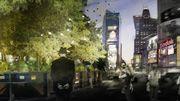New York : un projet de jungle éphémère sur Times Square