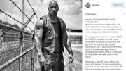 """Fast and Furious 8"": Dwayne Johnson dévoile le nouveau look de Luke Hobbs"