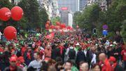 Le secteur non-marchand manifestait ce mardi à Bruxelles