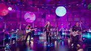 Coldplay joue son nouveau single dans l'émission American Idol
