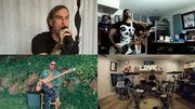 Un medley énergique de Rage Against The Machine par des membres de Sum 41 et The Used