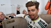 Sagan a une plaquette à son nom dans les douches à Roubaix
