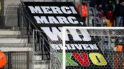 """""""Un président en or"""", """"bonne chance à Anderlecht"""": Coucke salué par les Ostendais"""