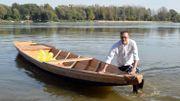 Des voiliers traditionnels en bois reviennent sur la Vistule