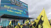 Vlaams Belang contre la coalition Vivaldi: des milliers de manifestants rassemblés à Bruxelles