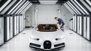 Dans l'intimité de la Bugatti Chiron