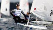 Emma Plasschaert termine 3ème en Laser Radial à Enoshima