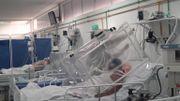 Unité de soins intensifs d'un hôpital de Manaus, Amazonas, Brésil