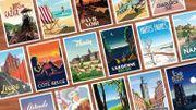L'Affiche belge: quand la déco met le tourisme 100% belge à l'honneur