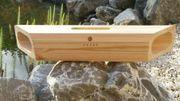 WoodBox : une enceinte pour smartphone fonctionnant sans électricité