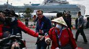 Coronavirus: des passagers du paquebot débarquent au Japon, plus de 2000 morts en Chine