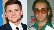 Dans le rôle d'Elton John...