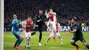 Premier but refusé après arbitrage vidéo en Ligue des champions, en faveur de Courtois et du Real