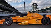 Premier test sur une IndyCar pour Alonso en vue des 500 Miles d'Indianapolis
