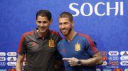 """""""On dirait qu'on est au funérarium"""", ironise Sergio Ramos"""