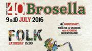 Le Brosella Folk & Jazz Festival fêtera son 40e anniversaire en juillet