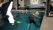 Pour Harry Fayt, un shooting sous l'eau se déroule entre stress et bonheur