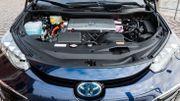Sous le capot de la Toyota Mirai à hydrogène