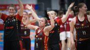 Troisième victoire d'affilée des Belgian Cats, qualifiées pour les quarts de l'Euro