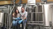 Paula et Valery, les patrons de la Brasserie ATRIUM