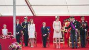 La famille royale.