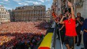 Une Grand Place comble: 6.000 supporters des Diables présents à leur retour