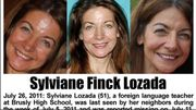 L'avis de recherche de Sylviane Finck Lozada