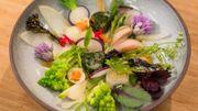 Les jardins de Liernu : légumes de saison et huile du temps