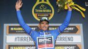 "Van Avermaet : ""Une sensation bizarre de pouvoir gagner Tirreno"""