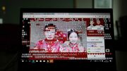 Confinement en Chine : ils se disent oui en ligne et à distance